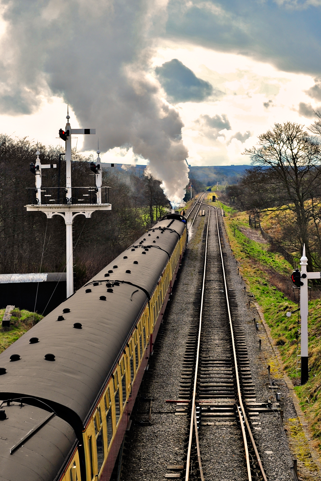 Harry Potter train North Yorkshire Moors Railway