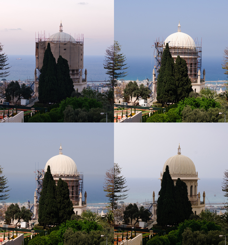 Restoration and cleaning of the Shrine of the Bab in Haifa